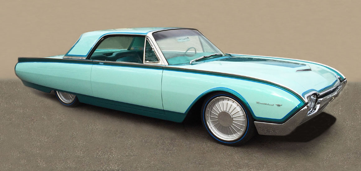 There Are Few Cars Than Can Be Called Factory Customs The 1961 Thunderbird Is One Of Them Known As Bullet Birds Because Their Side Profile